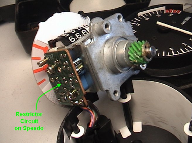 Destricting the Speed on a CBR250RR(L) Quick Method